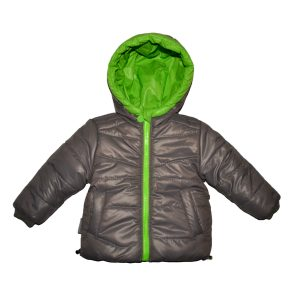 Куртка для мальчика  20218 цвет серый