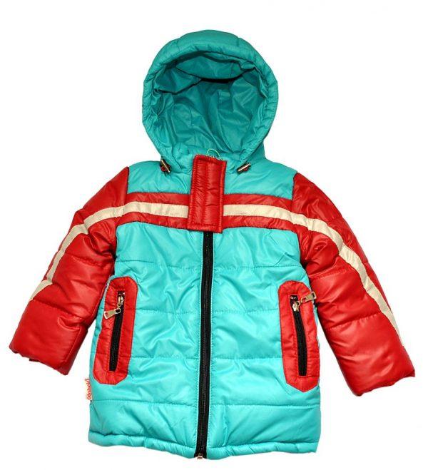 Куртка для мальчика 2840 бирюза