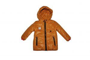 Куртка для мальчика  20136 горчичного цвета