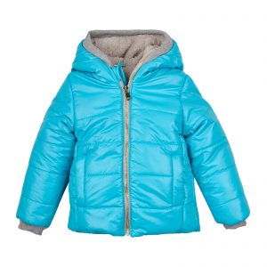 Куртка  20183 голубая