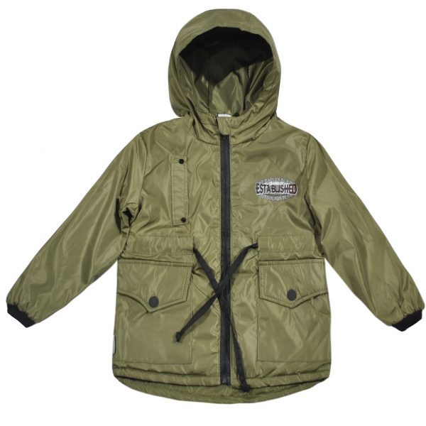 Куртка-парка 24045 хаки