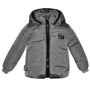 Куртка 22407 серая