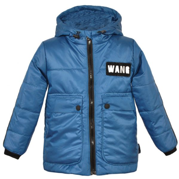 Куртка 22387 синяя