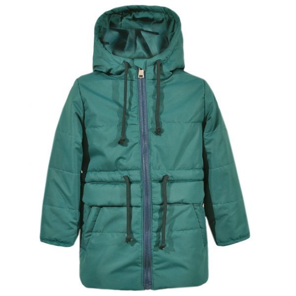 Куртка-парка 22417 зелёная