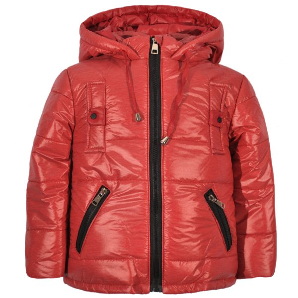 Куртка 22181 бордовая