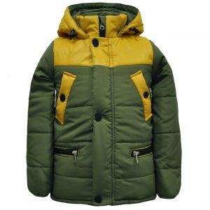 Куртка 22185 зелёная