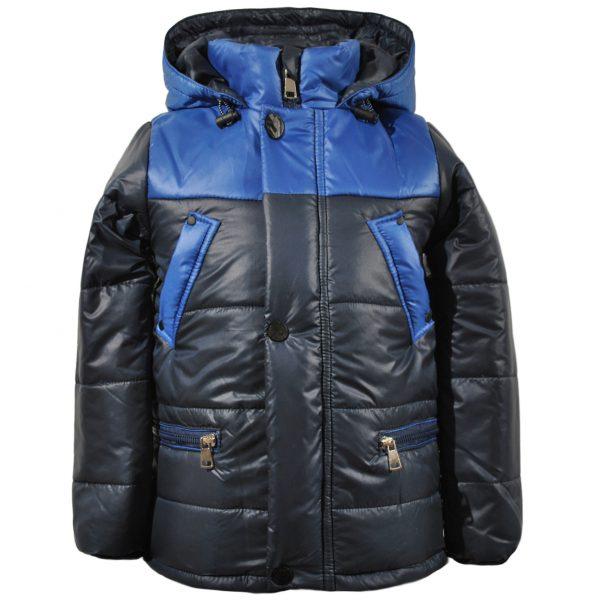 Куртка 22185 синяя