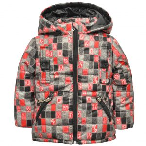 Куртка 22181 серая