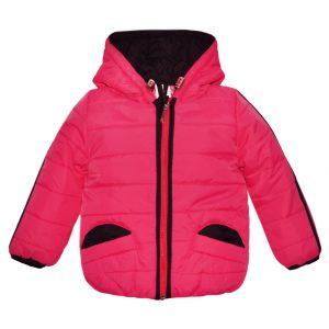 Куртка 2436 рожева