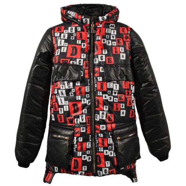Куртка 22250 чорна