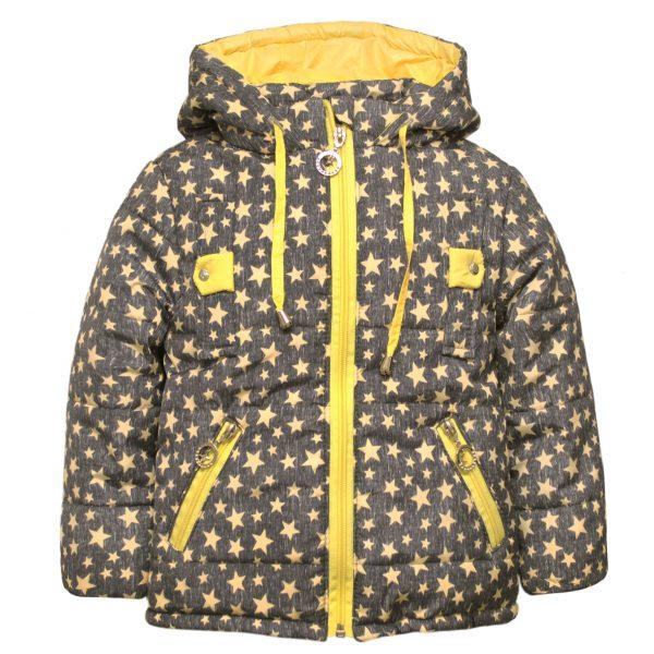 Куртка 22181 сіра