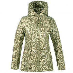 Куртка 2604 цветной принт