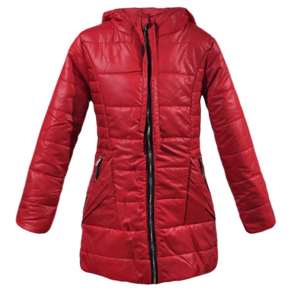 Куртка 22179 червона