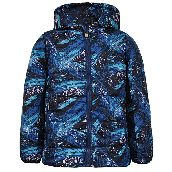 Куртка 22388 синяя