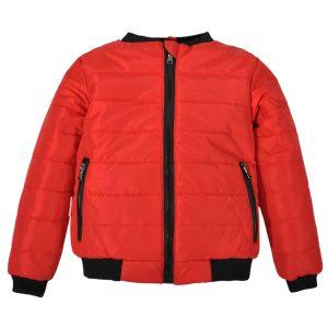 Куртка-бомбер 22409 красная