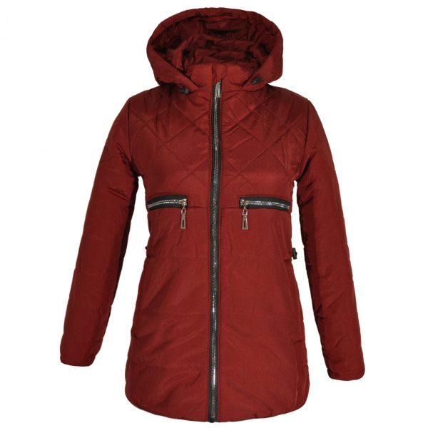 Куртка 22367 коричневая