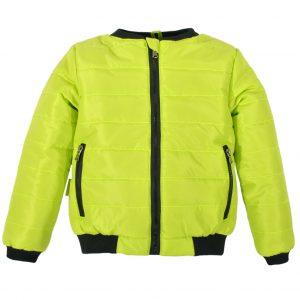 Куртка-бомбер 22409 салатовая