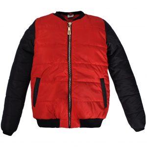 Куртка-бомбер 22200 красная
