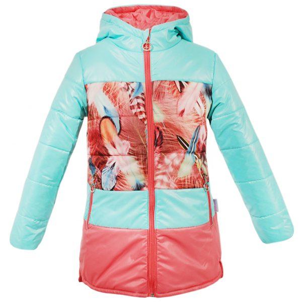 Куртка 22077 бирюзовая
