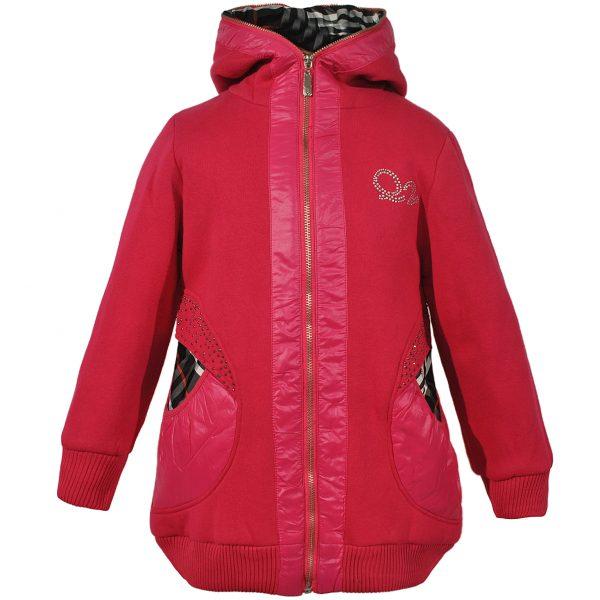 Куртка 617 рожева