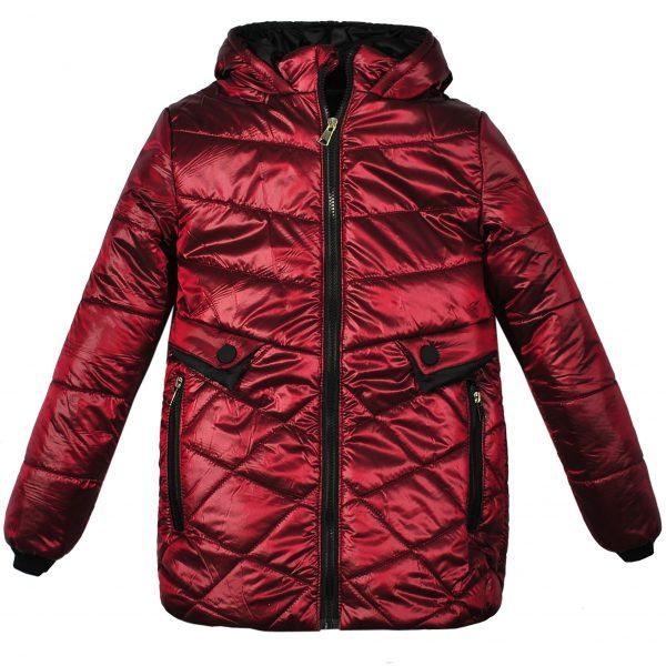 Куртка 22431 бордовая