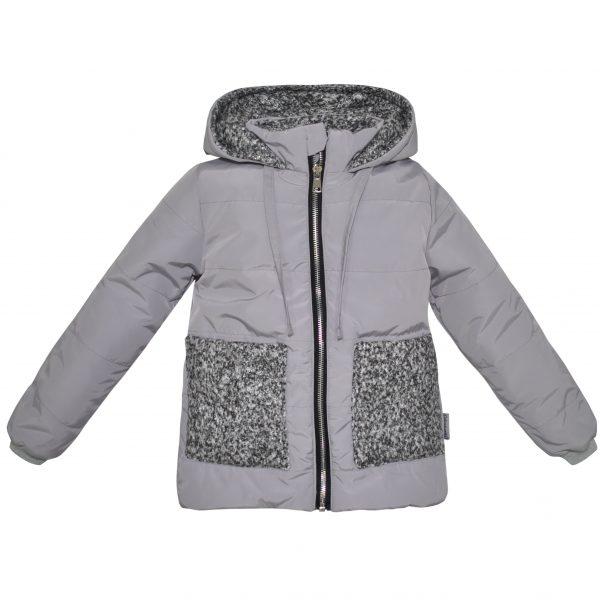 Куртка 22429 серая