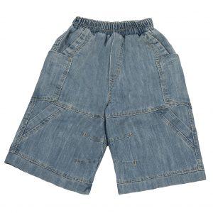 Джинсовые шорты Одягайко 1126 голубые