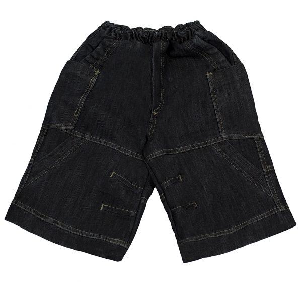 Джинсовые шорты Одягайко 1126 темно-синие