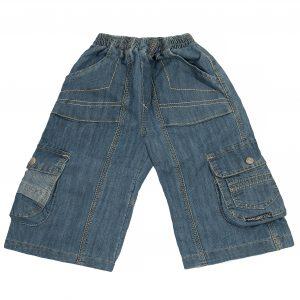 Джинсові шорти Одягайко 1188 блакитні