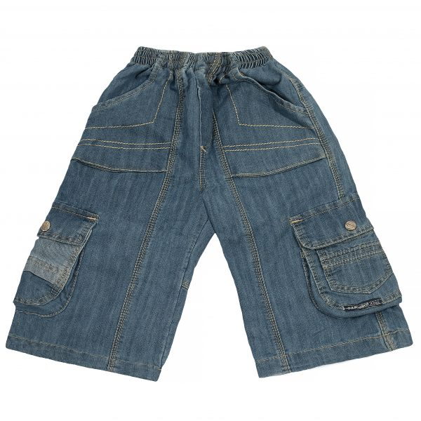 Джинсовые шорты Одягайко 1188 голубые
