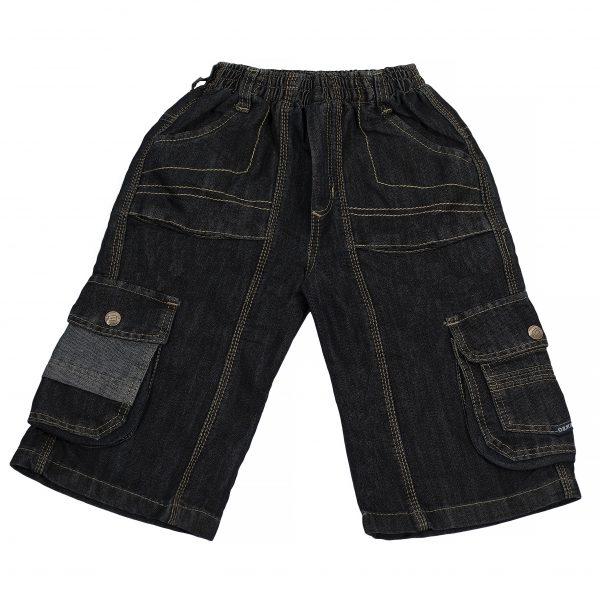 Джинсовые шорты Одягайко 1188 темно-синие