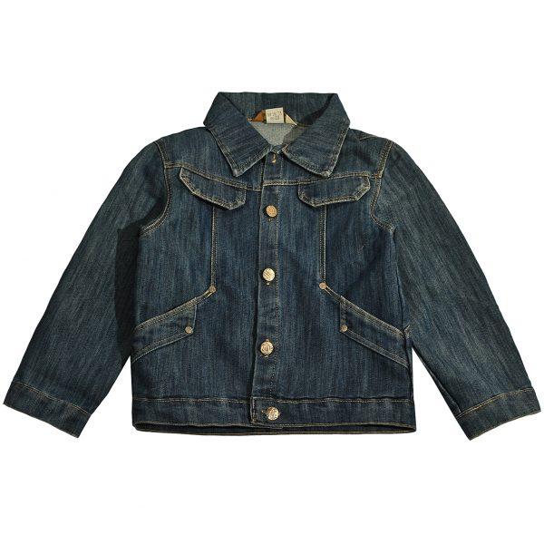 Джинсовая куртка на мальчика Одягайко 1212
