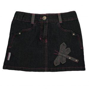 Спідниця джинсова 1526 чорна