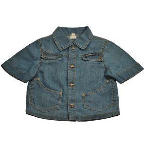 Джинсова сорочка на хлопчика Одягайко 1705