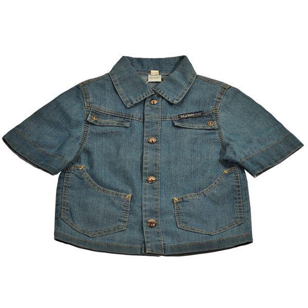 Джинсовая рубашка на мальчика Одягайко 1705
