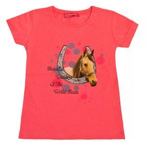Футболка на дівчинку 57286 рожева