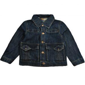 Джинсовая куртка на мальчика Одягайко 6167