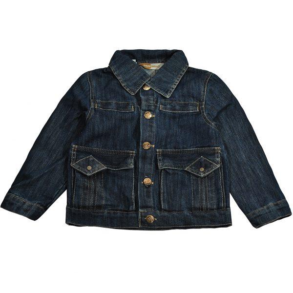 Джинсова куртка на хлопчика Одягайко 6167