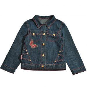 Джинсовая куртка на девочку Одягайко 6172