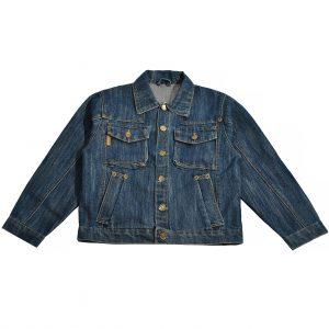 Джинсова куртка на хлопчика Одягайко 6174