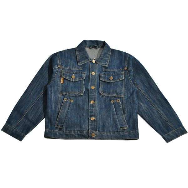 Джинсовая куртка на мальчика Одягайко 6174