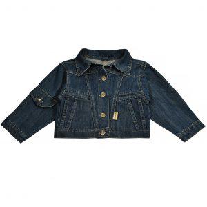 Джинсовая куртка на мальчика Одягайко 6175