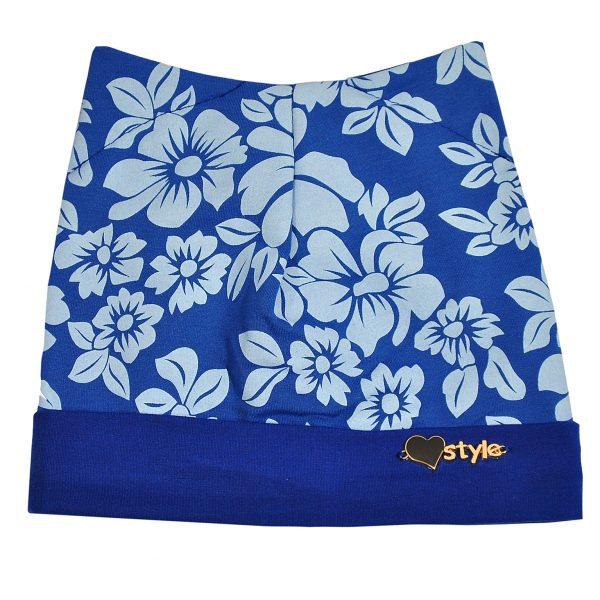 Шапка на дівчинку Одягайко 854 синій