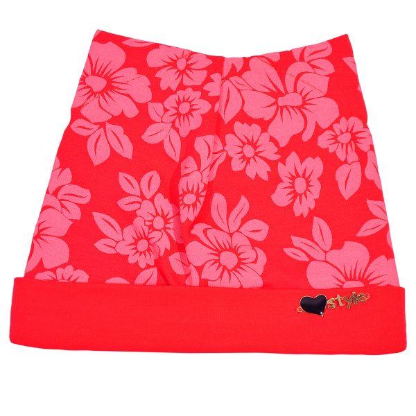 Шапка на дівчинку Одягайко 854 рожевий
