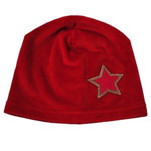 Шапка на дівчинку Одягайко 857 червона