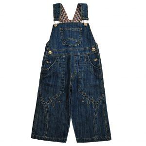 Джинсовий напівкомбінезон Одягайко 1301 синій