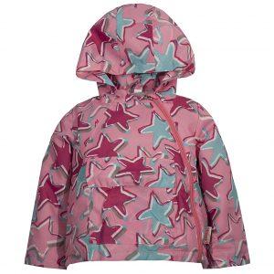 Ветровка на девочку Одягайко 24007 светло-розовая