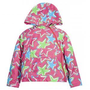 Вітровка на дівчинку Одягайко 24007 рожева
