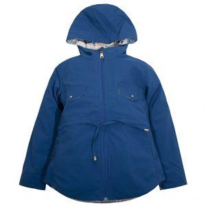 Ветровка на девочку Одягайко 24012 синяя
