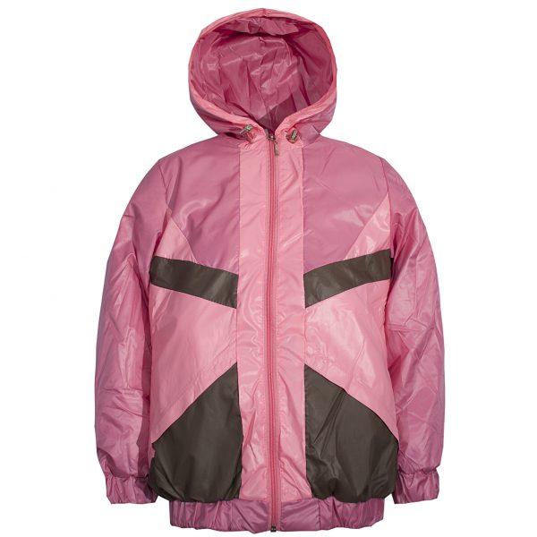 Ветровка на девочку Одягайко 2464 розовая
